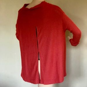 FREE PEOPLE TUNIC TOP CU OUT BACK XS, S